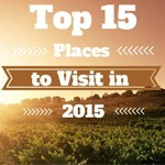 Top 15 Places to Visit in 2015