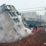 China Landslide Buried 33 Buildings and Left 91 People Missing
