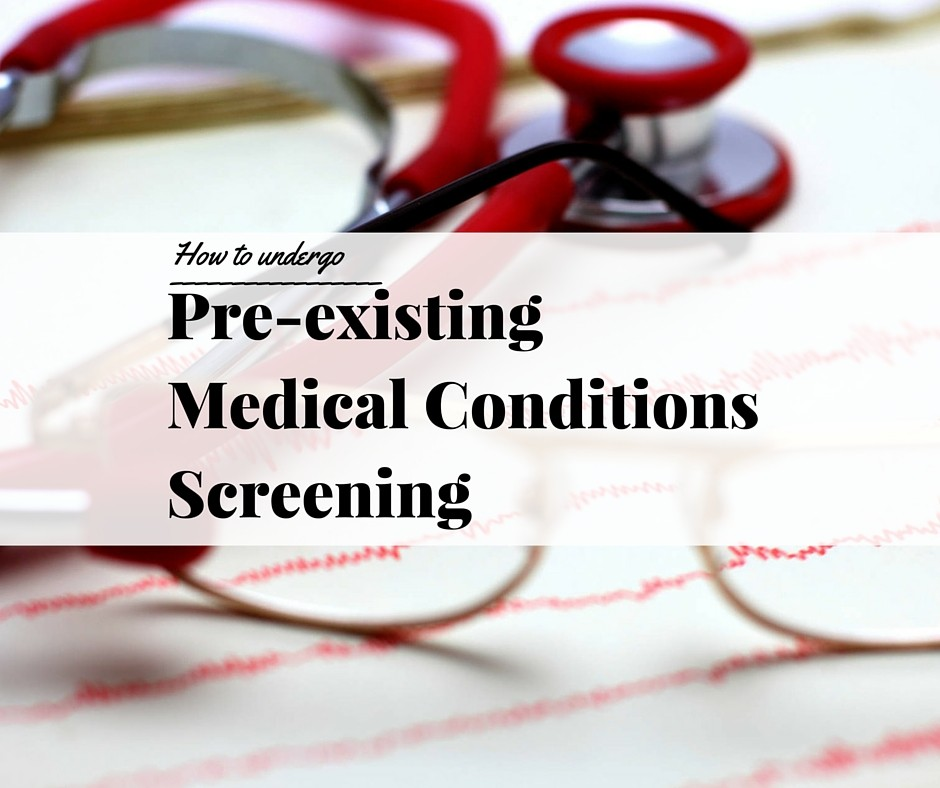pre existing conditions In the context of healthcare in the united states, a pre-existing condition is a medical condition that started before a person's health benefits went into effect.