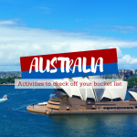 7 Activities to Check off Your Bucket List in Australia