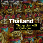 14 Things That Will Surprise First-Time Visitors to Thailand
