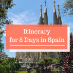 From Barcelona to Malaga: What to Do with 8 Days in Spain?