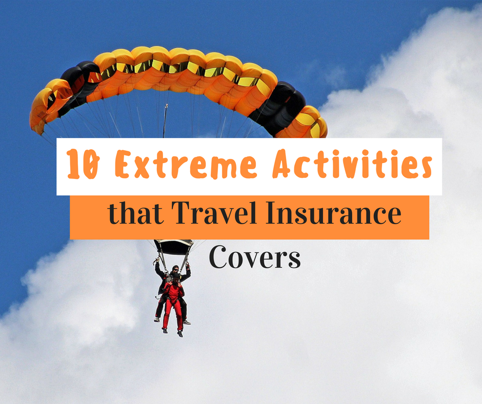 Extreme Sports Travel Insurance Nz