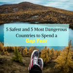 5 Safest and 5 Most Dangerous Countries to Spend a Gap Year
