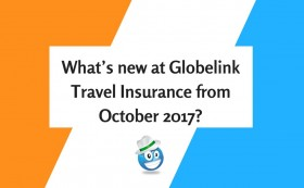 What's new at Globelink Travel Insurance from October 2017?