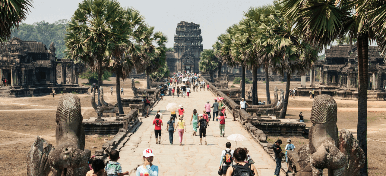 vacation in Cambodia