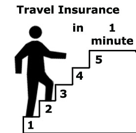 travel insurance in 1 minute