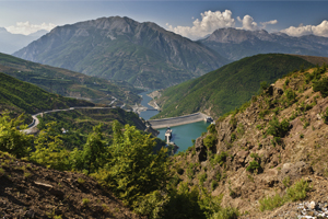 Albania mountains