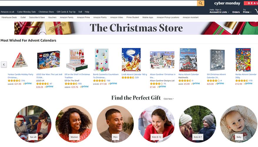 Amazon Christmas Store