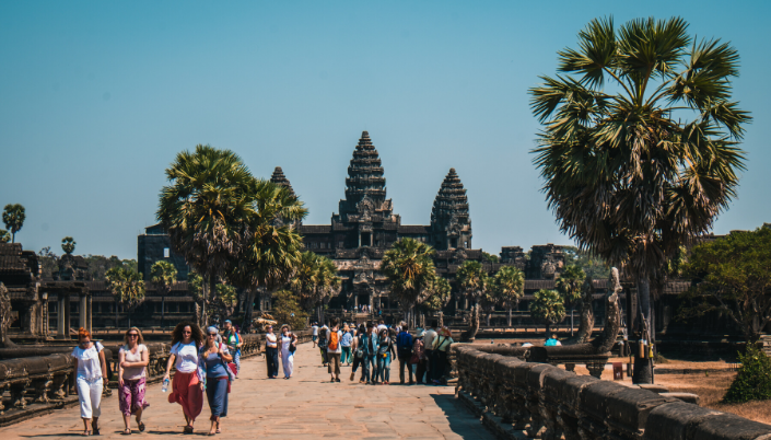 Angkor wat location