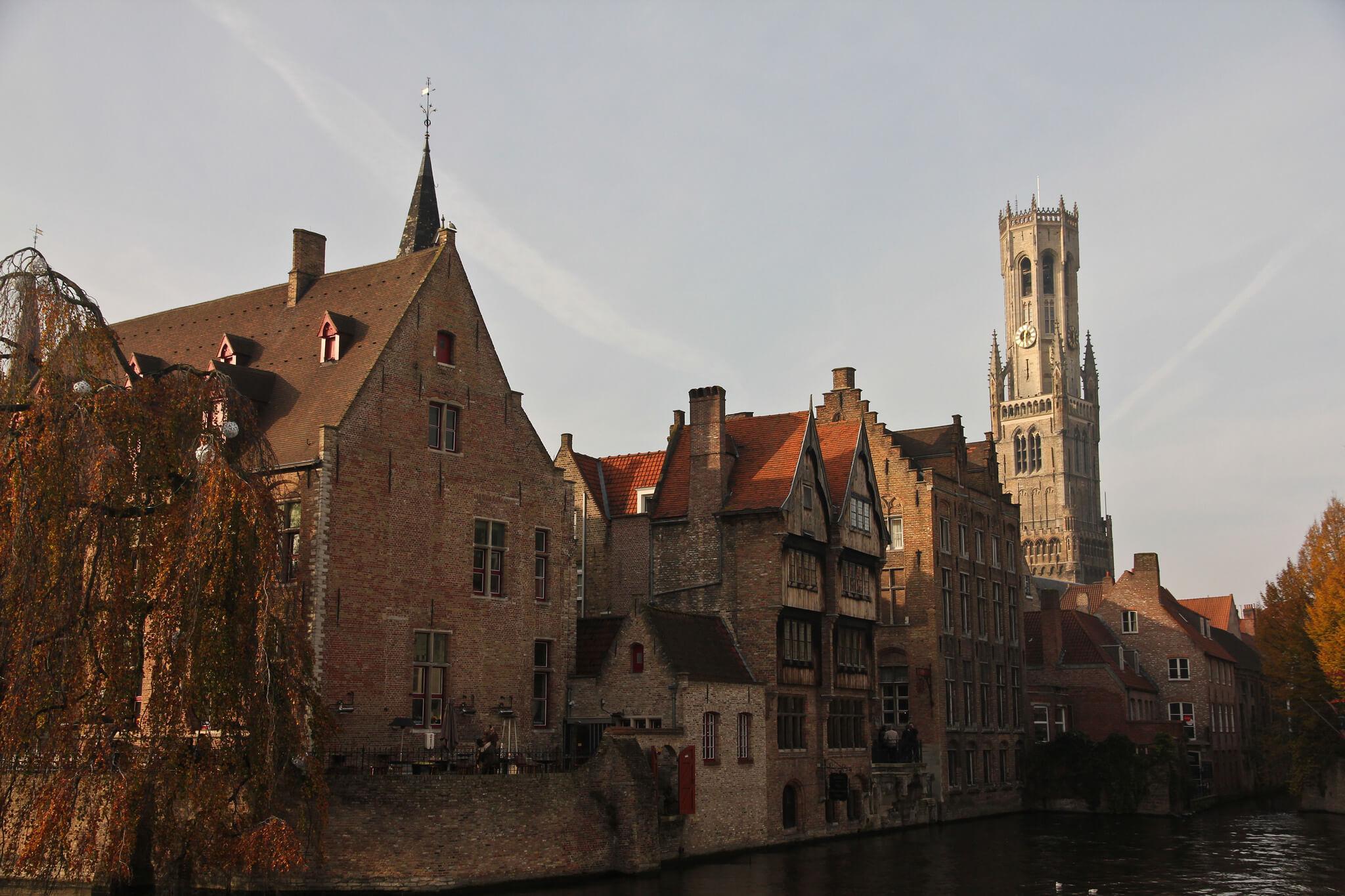 Bruges in autumn
