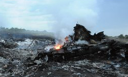 MH17 plane crashed in Ukraine