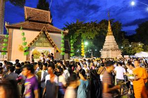 Crowd in Thailand
