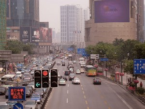 Driving in china