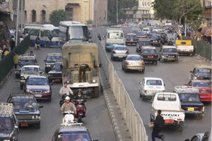 Egypt traffic
