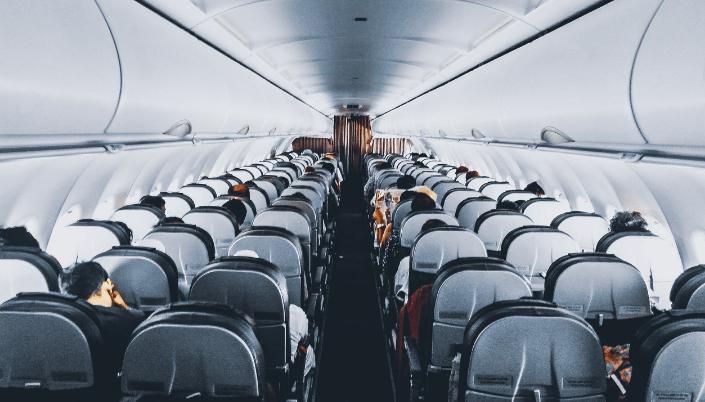 Empty Plane Seats
