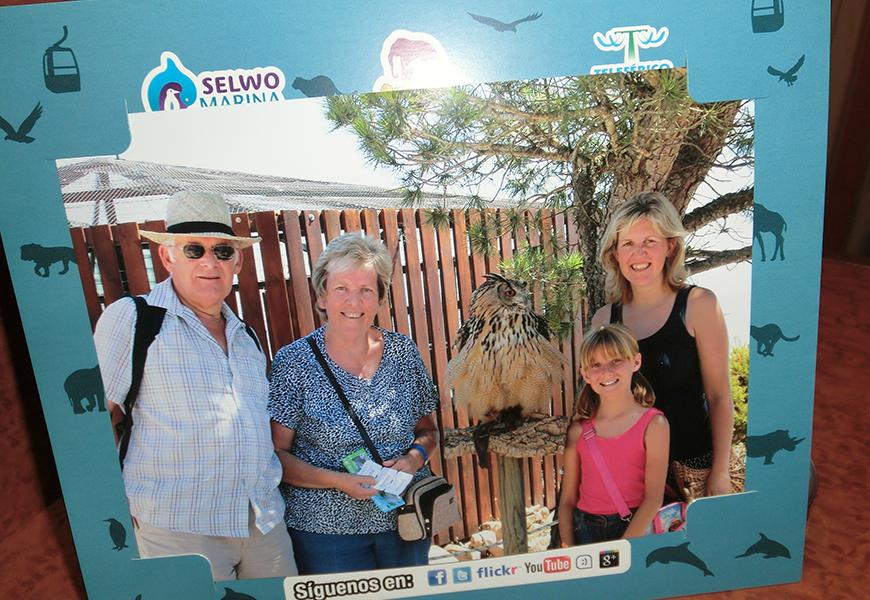 Family travel photo