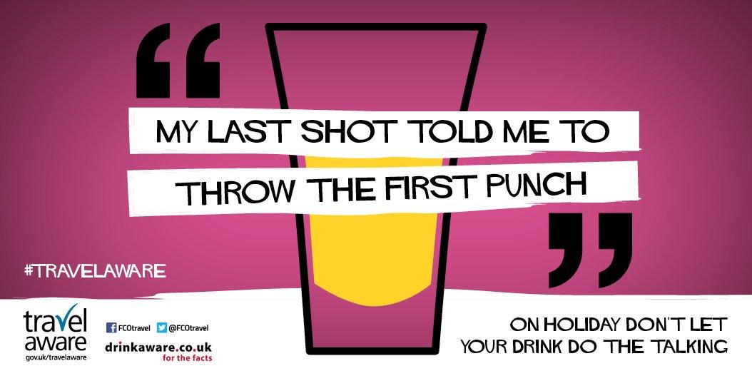 FCO DrinkAware campaign