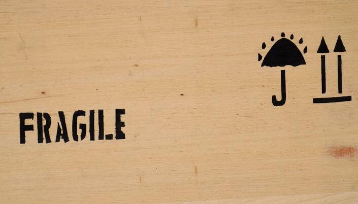 Fragile Travel Baggage