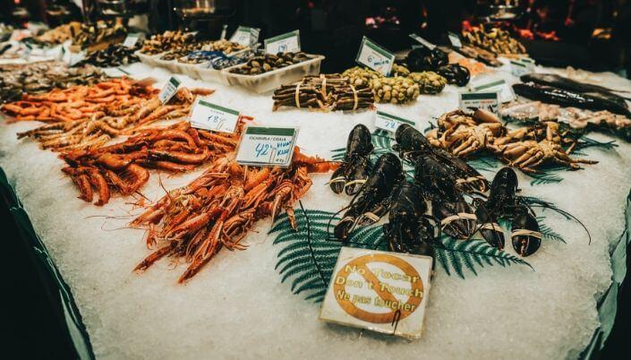 Marché Provencal market