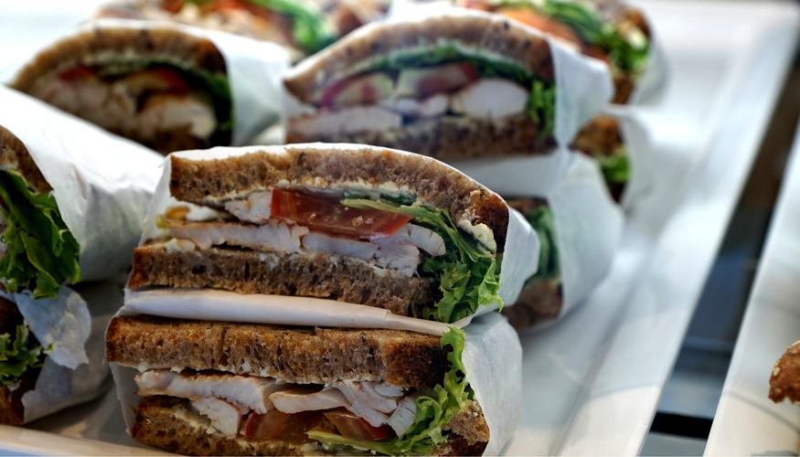 Sandwiches for a walk
