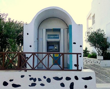 ATM in Greece