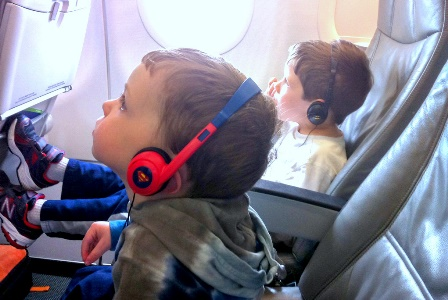 Travel with Headphones