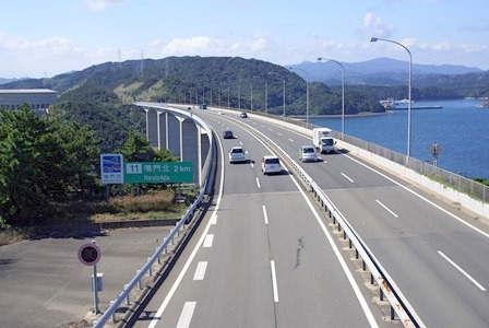 Highway in Japan