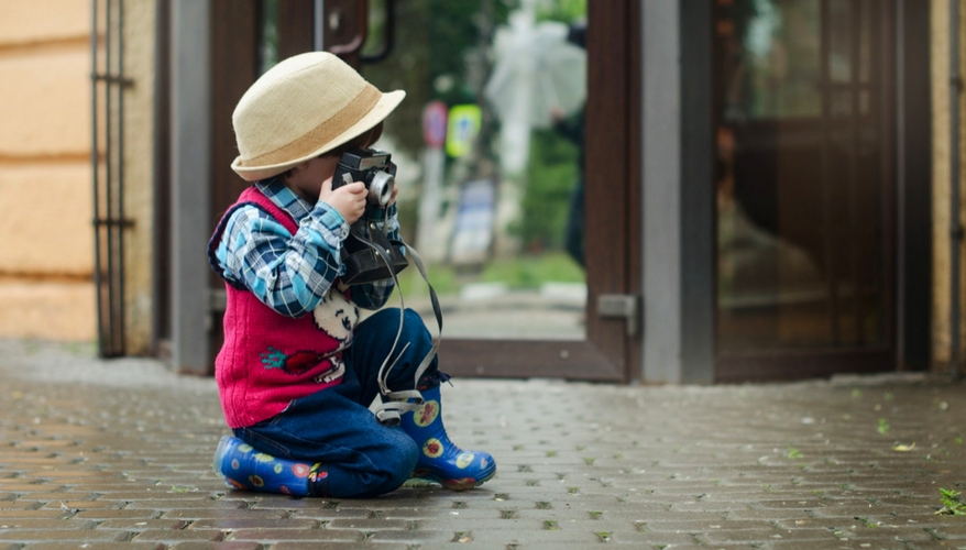 Kid with a camera