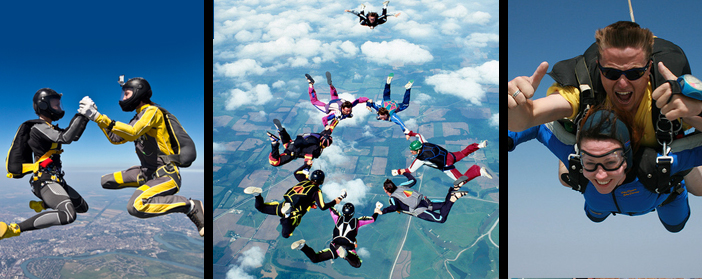 parachuting travel insurance