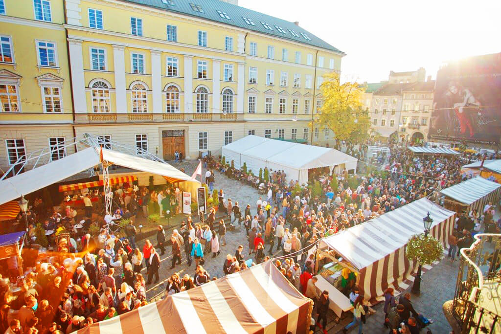 Lviv Cheese and Wine Festival