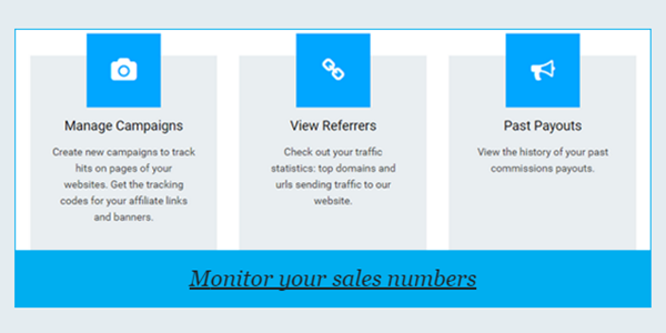 Monitor your sales