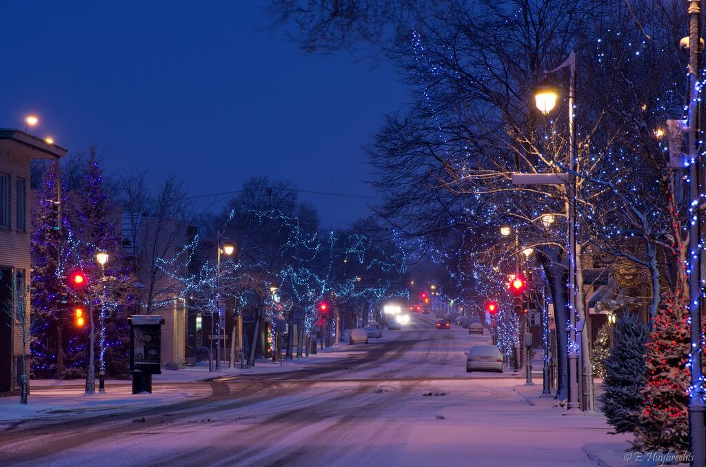 Montreal Christmas Street