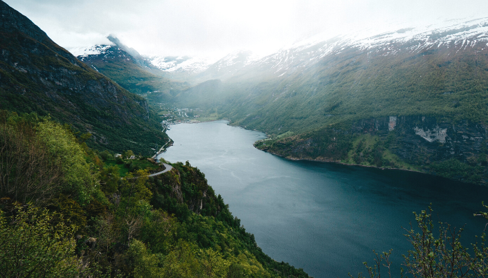 Norway fjords travel