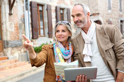 older tourists