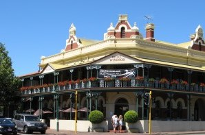 Windsor hotel in Perth