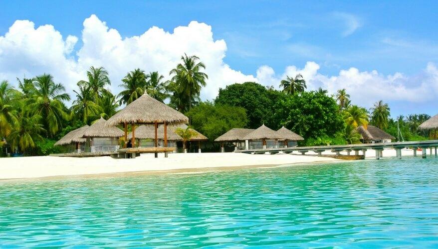 Resort on the Maldives