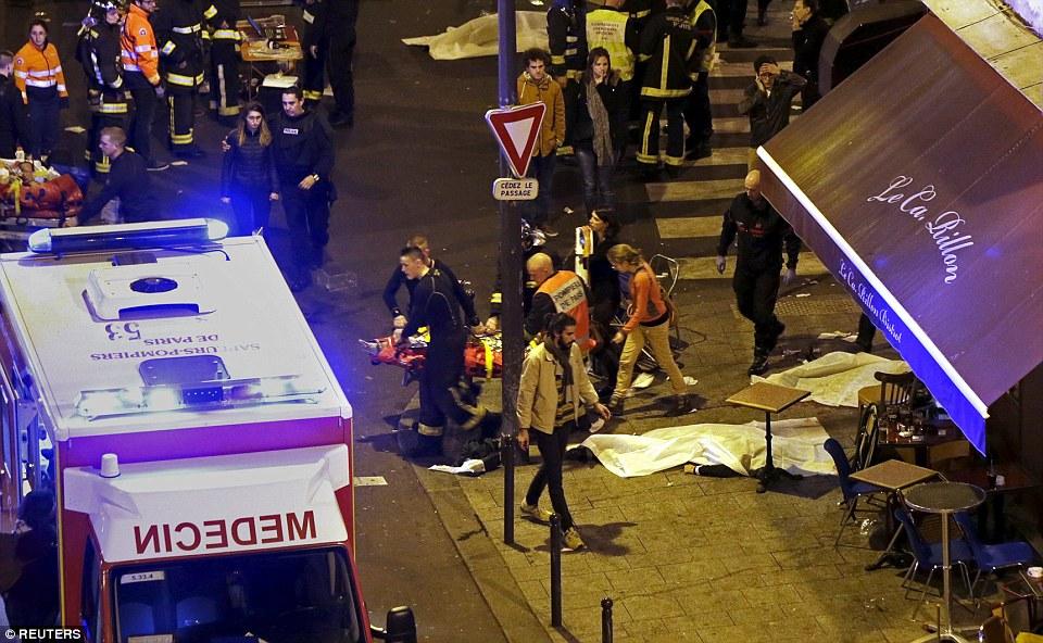 paris terrorist attacks