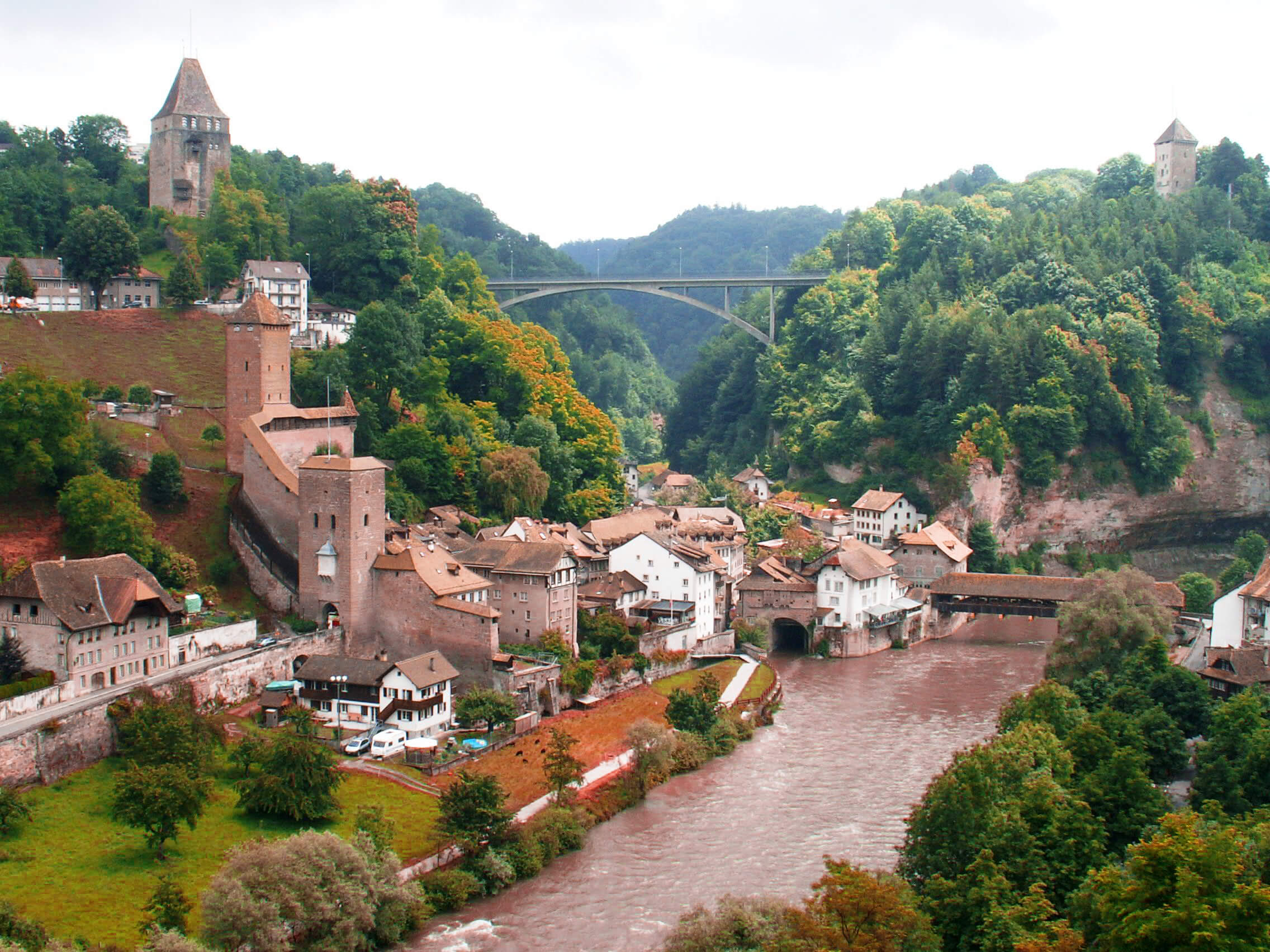 River Saane, Switzerland