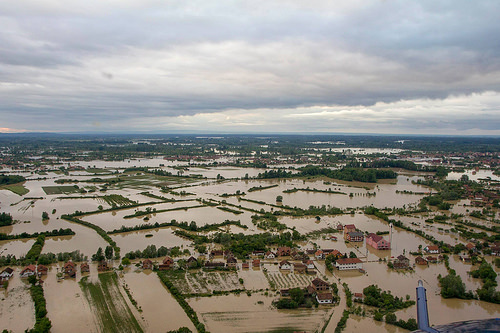 Bosnia and Serbia flood