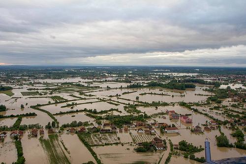 Bosnia and Serbia flood