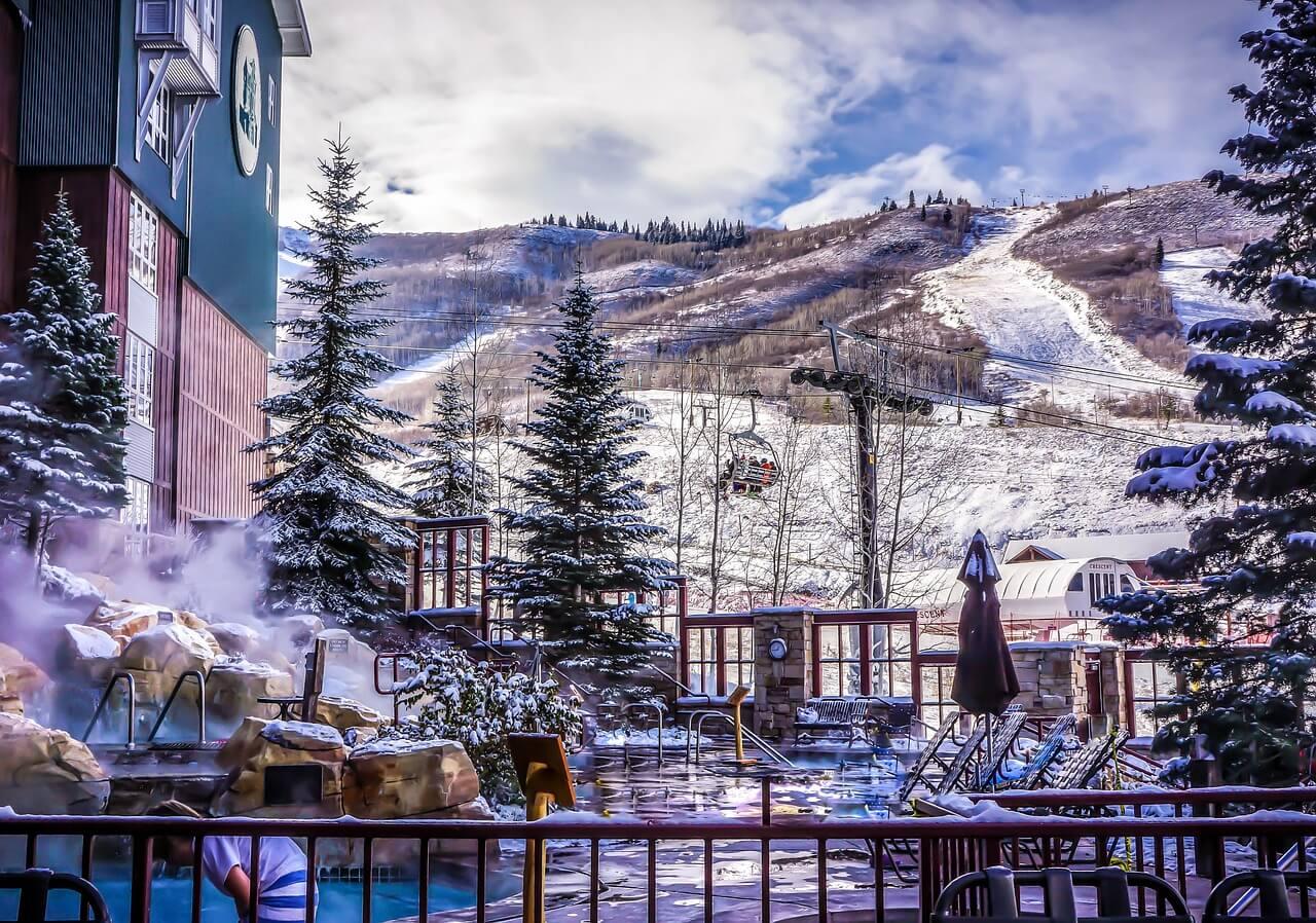 Luxury ski resort