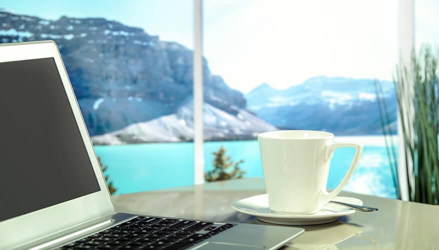 Travel laptop