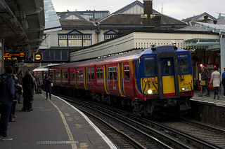 Train in Britain